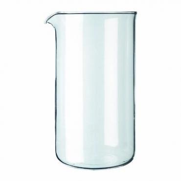 Tartalék üvegtartály, francia sajtó Kaffia 800ml