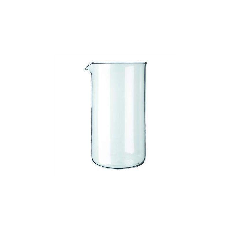 Tartalék üvegtartály, frenchpress Kaffia 800ml