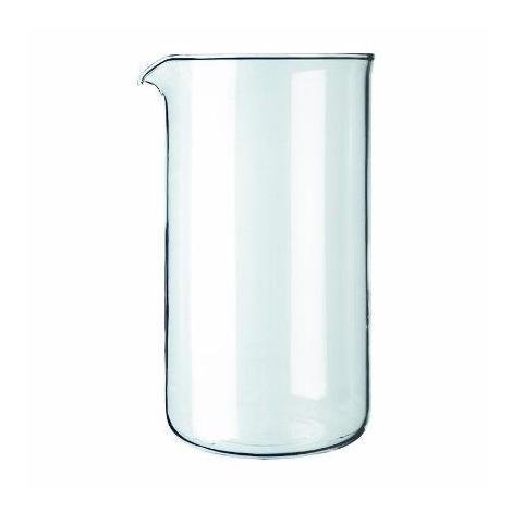 Replacement glass frenchpress Kaffia 800ml glass
