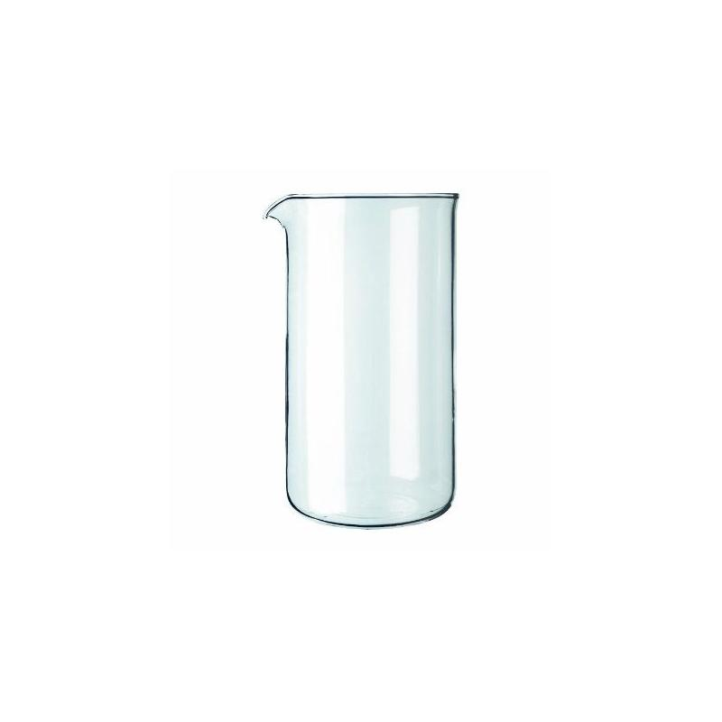 Náhradná sklenená nádoba Frenchpress Kaffia 1000ml