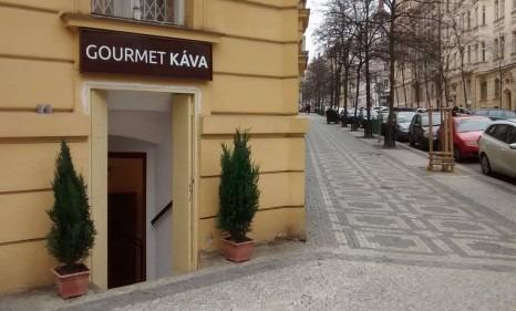 GourmetKava - friss kávé - Prague Vinohrady
