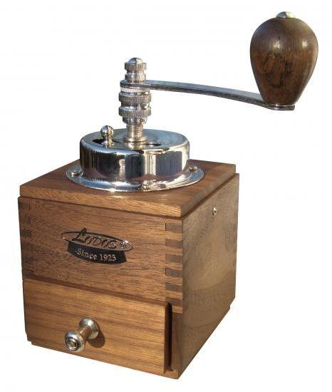 Ruční mlýnek na kávu Lodos 1945 Luxury - ořech