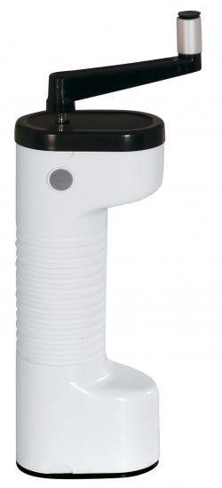 Lodos Temp ruční mlýnek na kávu bílý