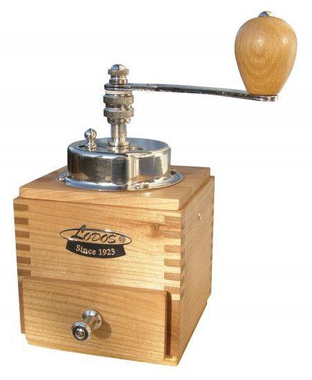 Ruční mlýnek na kávu Lodos 1945 Luxury - třešeň