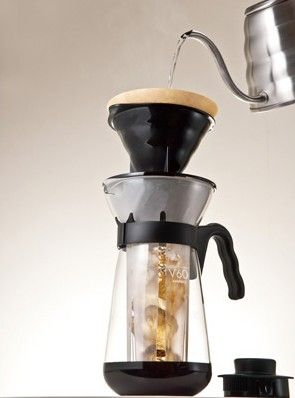 Hario V60 Fretta Ice Coffee Maker - sada pro přípravu ledové kávy