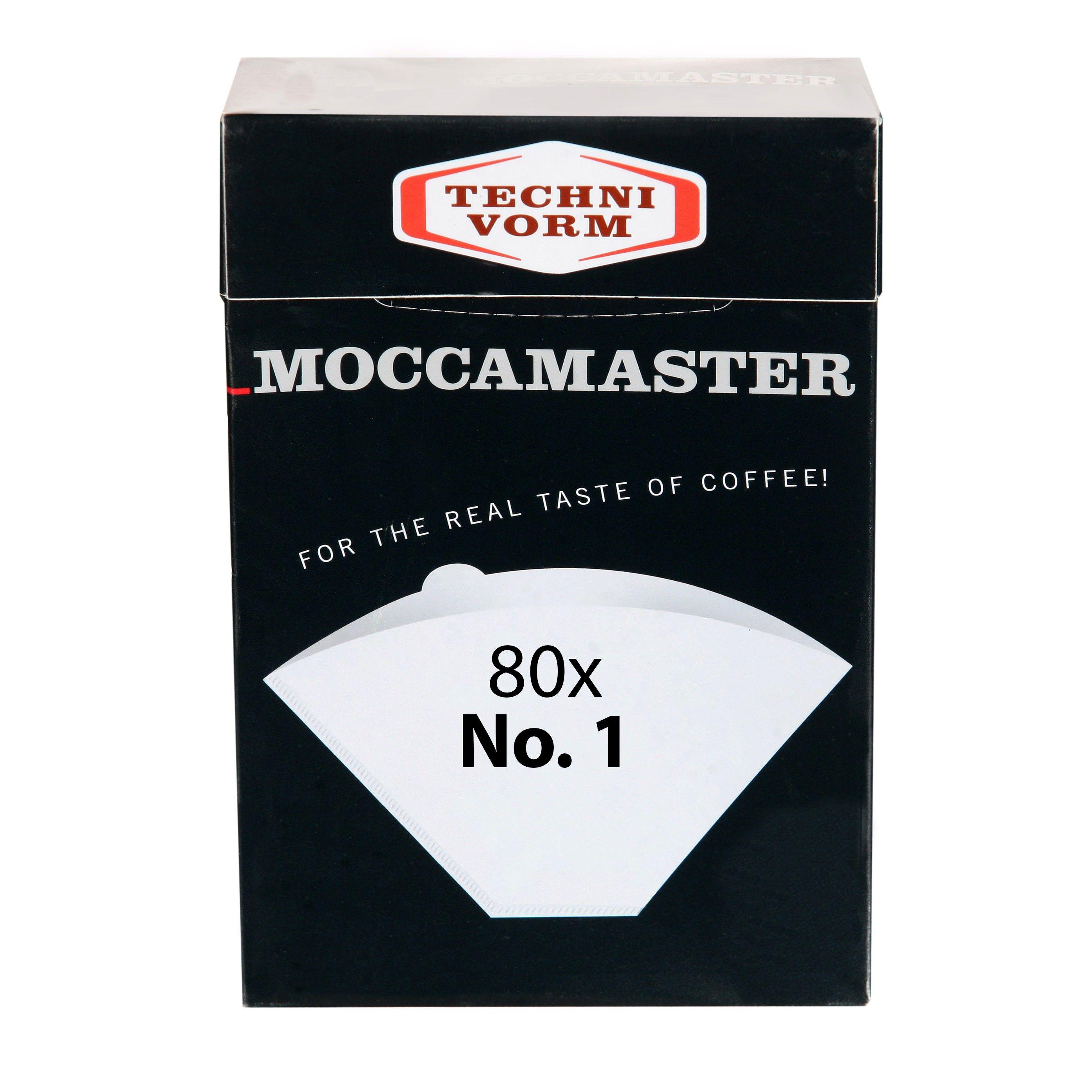 Papírové filtry Moccamaster vel. 1 80ks