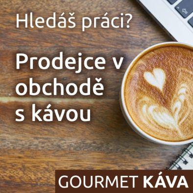 Nabídka práce: Prodejce v obchodě s kávou