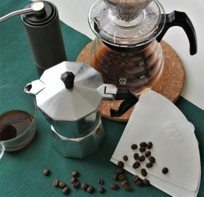 THE BEST COFFEE? AT YOUR HOME!; Everything for home preparation; see mocha, french, drippers ...